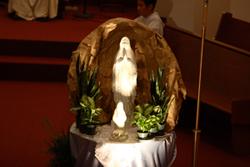 慶祝露德聖母顯現150週年彌撒
