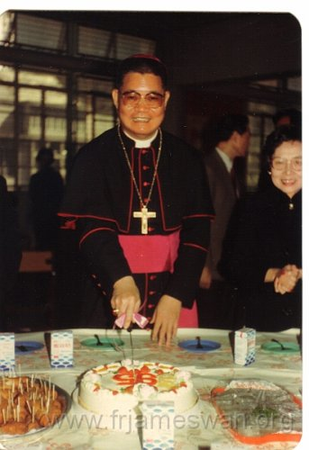 1983 Dec 95th Anniversary of HK Cathedral