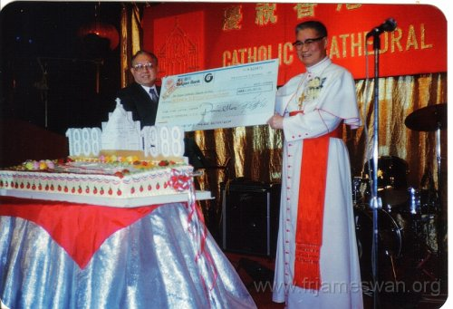 1988 Dec 6 100th Anniversary of HK Cathedral - Dinner - 1