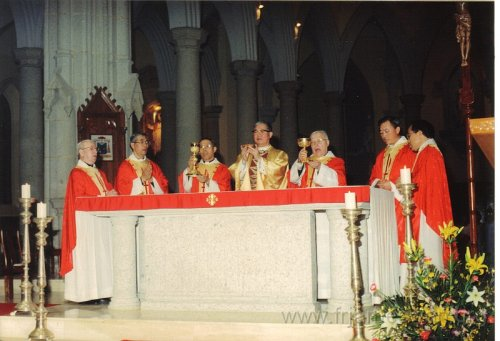 1990 Dec 8 Feast Day of HK Immaculate of Conception of Cathdreal - 12