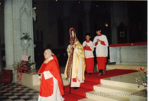 1990 Dec 8 Feast Day of HK Immaculate of Conception of Cathdreal - 4