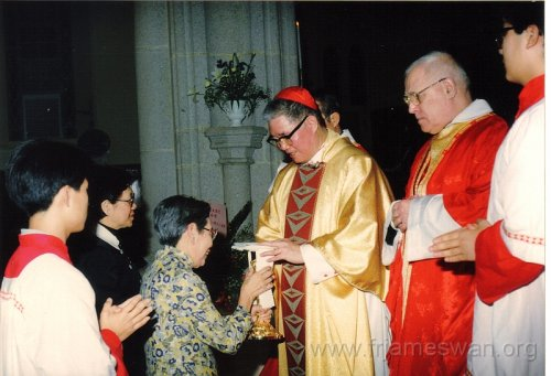 1990 Dec 8 Feast Day of HK Immaculate of Conception of Cathdreal - 7