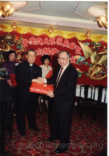 1990 Dec 8 Feast Day of HK Immaculate of Conception of Cathdreal - Dinner - 28