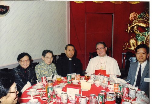 1990 Dec 8 Feast Day of HK Immaculate of Conception of Cathdreal -  Dinner -  16
