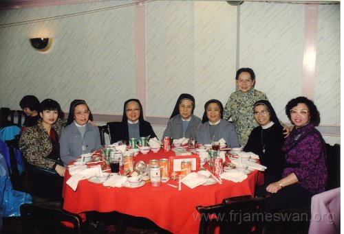 1990 Dec 8 Feast Day of HK Immaculate of Conception of Cathdreal -  Dinner -  18