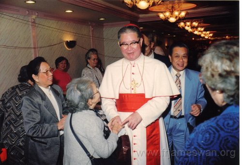 1990 Dec 8 Feast Day of HK Immaculate of Conception of Cathdreal -  Dinner -  6