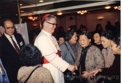 1990 Dec 8 Feast Day of HK Immaculate of Conception of Cathdreal -  Dinner -  8