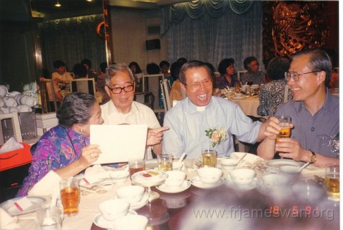 1991 June 18 25th Anniv of Ordination of Fr. Tong Hong 11