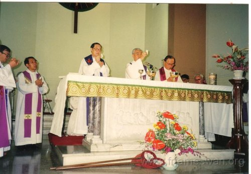 1993 Sept 7 Wan Chi - Our Lady of Mount Carmel Church - 40th Anniv - Memorial Mass of Ching Yeh Lone - 1