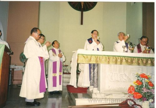 1993 Sept 7 Wan Chi - Our Lady of Mount Carmel Church - 40th Anniv - Memorial Mass of Ching Yeh Lone - 2
