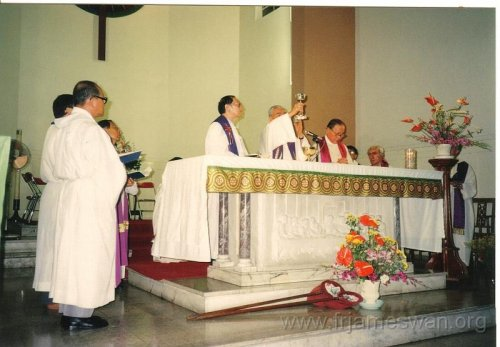 1993 Sept 7 Wan Chi - Our Lady of Mount Carmel Church - 40th Anniv - Memorial Mass of Ching Yeh Lone - 3