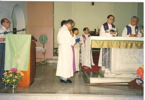 1993 Sept 7 Wan Chi - Our Lady of Mount Carmel Church - 40th Anniv - Memorial Mass of Ching Yeh Lone - 4