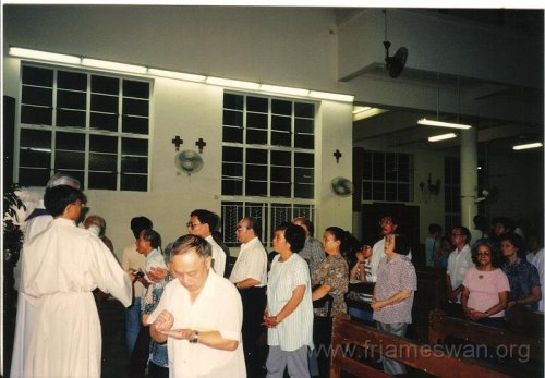 1993 Sept 7 Wan Chi - Our Lady of Mount Carmel Church - 40th Anniv - Memorial Mass of Ching Yeh Lone - 5