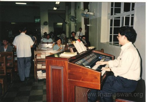 1993 Sept 7 Wan Chi - Our Lady of Mount Carmel Church - 40th Anniv - Memorial Mass of Ching Yeh Lone - 6
